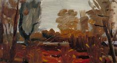 Giclee Print: Damp Autumn by Ivon Hitchens : Spring Landscape, Abstract Landscape, Landscape Paintings, Landscapes, Cool Artwork, Framed Artwork, Georges Braque, Art Uk, Modern Artists