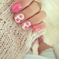 So floral, so feminine, so pink and pretty.