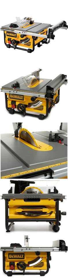 DEWALT DW745 10-Inch Compact Job-Site Table Saw with 16-Inch Max Rip Capacity - The DEWALT versatile 10-Inch Jobsite Table Saw features the Site-Pro Modular Guarding System for application-specific setups that result in quick, accurate cuts. It pairs a portable design with a powe... - Table Saws - Tools & Hardware - $332.96