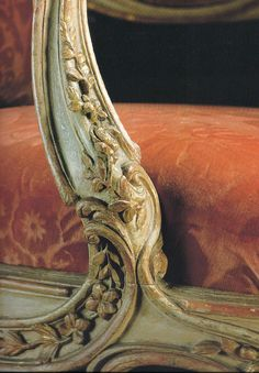 Detail of an 18th - Century French Fauteuil