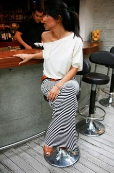 uniform: maxi skirt & comfy shirt | Thoughts By Natalie