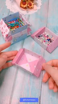 Cool Paper Crafts, Paper Crafts Origami, Fun Crafts, Crafts For Kids, Paper Embroidery Tutorial, Diy Embroidery, Diy Crafts Hacks, Diy Home Crafts, Christmas Embroidery Patterns