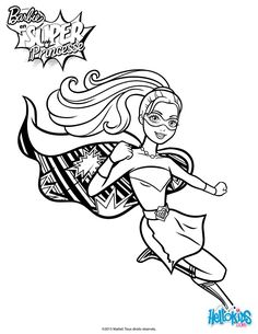 Barbie coloring page.313-