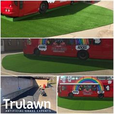 I love this marvelous artificial grass indoors Artificial Grass For Dogs, Fake Grass, Artificial Turf, Wheels On The Bus, Kids Play Area, Kids Playing, Nursery, Indoor, Turf Installation