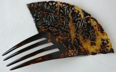 Beautiful Antique Chinese Carved Hair Comb | eBay