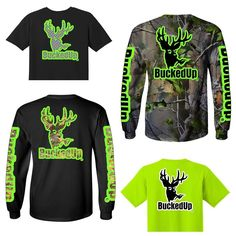 Something green?  Visit BuckedUpApparel.com  #BuckedUp #getbuckedup #camo #realtree #realtreeapg #realtreecamo #green #hunting #huntinggear #huntingislife #huntingthings #huntingbuddy #buck #deer #apparel