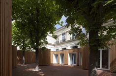 Crèche et halte garderie 74 berceaux, Paris, Kalus Roussel Architectes