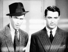James Stewart and Cary Grant in The Philadelphia Story (George Cukor, 1940)