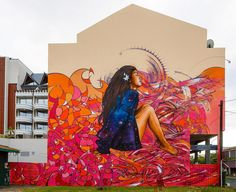 Street Art, Mural. | Alex MAC 3HC / Broc / Hopare in Papeete, French Polynesia. pic by Marco Prosch