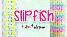 NEW Reversible SlipFish Rainbow Loom Bracelet Tutorial, How To. I GOT MY AWESOME BANDS FROM: . Copyright © TutorialsByA, Please do not copy, remake, or redistribute this tutorial or create tutorials on this design without the consent of Rainbow Loom Tutorials, Rainbow Loom Patterns, Rainbow Loom Bands, Rainbow Loom Bracelets, Loom Band Bracelets, Bracelet Crafts, Rubber Bracelets, Loom Bands Tutorial, Bracelet Tutorial