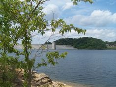 The Dam @ Green River Lake State Park near Campbellsville, Kentucky
