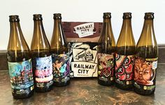 To celebrate the popular winter event of local arts and culture, Railway City Brewery has create a limited edition Arts Crawl inspired beer pack!