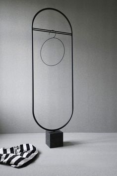 A subtle showstopper with its slim black frame anchored in a marble block, the Stand Out coat stand by Ida Linea Hildebrand for Friends & Founders does just that. Quality Furniture, Furniture Decor, Furniture Design, Rustic Furniture, Milan Furniture, French Furniture, Luxury Furniture, Garden Furniture, Rack Design