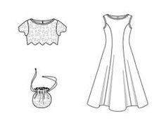 Bildergebnis für kleider selber nähen schnittmuster kostenlos