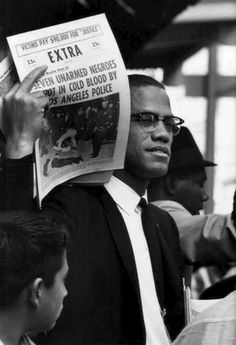 Malcolm X by Gordon Parks - one of the figures of twentieth century photography. Gordon Parks left behind a body of work that documents many important aspects of American culture from the early 1940s up until his death in 2006, with a focus on race relations, poverty, Civil Rights, and urban life. In addition, Parks was also a celebrated composer, author, and filmmaker who interacted with many of the most prominent people of his era—from politicians and artists to celebrities and athletes.