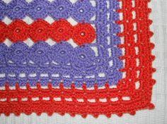 Couverture bébé crochet /CROCUS €32.00