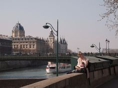 Paris And A Girl On the Quai