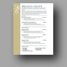 cover page resume templates