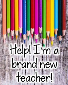 Help! I'm a Brand New Teacher Blog Header