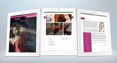 iPad Fashion Magazine Template on @graphicsmag