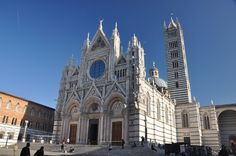 Siena Duomo Siena, Barcelona Cathedral, Building, Italy, Buildings, Construction