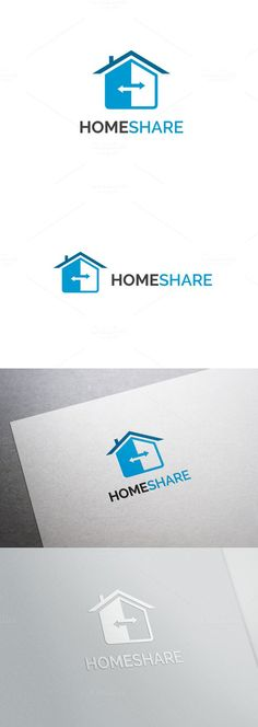 Home Share Logo. Logo Templates. $24.00