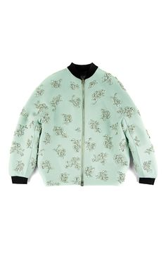 embellished bomber Nice color this embellish bomber jacket- we love it says Creme Fraiche Dk