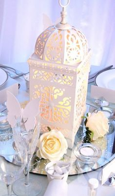 Moroccan Lantern Centerpiece!