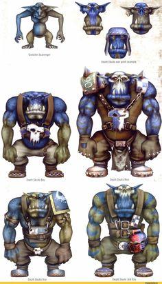 Gretchin Scavenger Death Skulls war paint example Death Skulls Boy Death Skulls Boy Death Skulls Ard Boy,warhammer 40000,фэндомы,orks,Deff Skullz,магия цвета