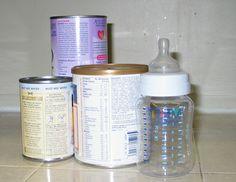 How to prepare powdered formula.