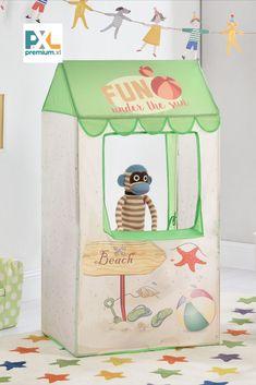 Deti sa radi hraju na skrývačku a tento stan im poskytuje skvelé miesto na skrytie alebo na hranie. Tento stan je skvelým doplnkom rôznych hier a dobrodružstiev, fantázii sa medze nekladú. Toy Chest, Storage Chest, Toys, Fun, Home Decor, Activity Toys, Decoration Home, Room Decor, Clearance Toys