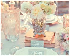 Collaboration with Dash Of Blonde + Design By Dainty    Collaboration with Dash Of Blonde + Design By Dainty    #wedding #weddingflowers #flowers #tablesetting #decor #macaroons #books #gold #giftfavors #menu #design #script #placecards #namecards #rustic #glam