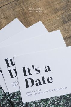 Uniquely Modern Save the Date Cards Cheap Save The Dates, Modern Save The Dates, Wedding Save The Dates, Our Wedding, Wedding Engagement, Country Engagement, Engagement Pictures, Engagement Shoots, Engagement Photography