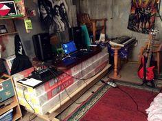 My basement.