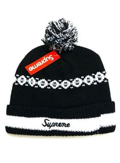 c607f40c252b9 2017 Winter Hot Supreme Beanie knitted hat Supreme Hat