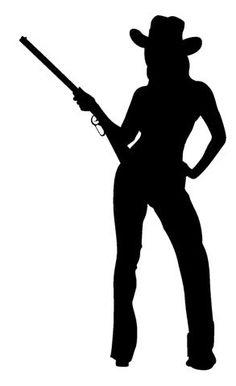 Cowgirl Silhouette 4 (Small).jpg (293×480)