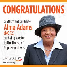The country marked a milestone in Tuesday's midterm elections with the victory of Democrat Alma Adams, who became the 100th female member of Congress, the highest number in history. State Rep. Adams won in a special election in North Carolina's 12th Congressional District, which means she will be sworn in promptly. There are currently 20 women in the U.S. Senate and 79 in the House of Representatives.
