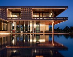 Casa Kimball, Dominican Republic, designed by Rangr Studio. Located on a cliff overlooking the Atlantic Ocean, Casa Kimball is a stunning example of contemporary architecture in harmony with its site. Residential Architecture, Amazing Architecture, Modern Architecture, Cool House Designs, Luxury Villa, Coastal Living, Luxury Living, Loft, My Dream Home