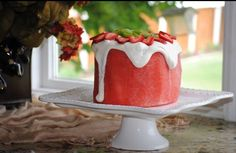 Watermelon cake love it