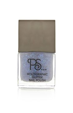 Primark - PS Blue Holographic Nail Polish