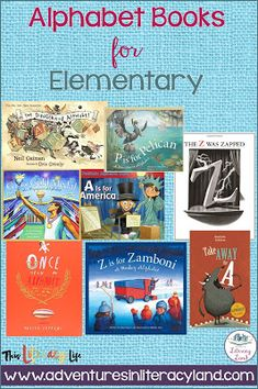 Alphabet books aren't just for the youngest readers. With so many choices, everyone can find one (or more) to enjoy! Different Alphabets, Story Elements, Simple Pictures, Mentor Texts, Learning Letters, Student Learning, Anchor Charts, Lessons Learned, Literacy