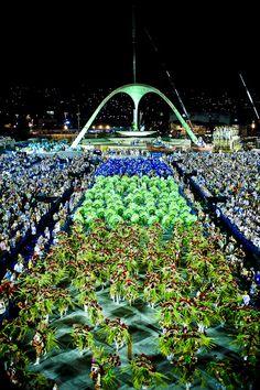 Carnaval at Marquês de Sapucaí, Rio de Janeiro, Brasil