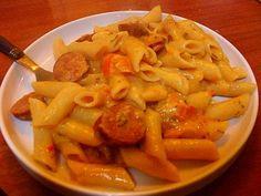 BLOG: Chorizo Sausage Pasta Recipe