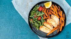 Coconut fish and chips female featured 28 By Sam Wood, Haloumi Salad, Bbq Corn, Coconut Fish, Blueberry Oat, Sweet Potato Chips, Extreme Diet, Smoothie Ingredients, Fish And Chips
