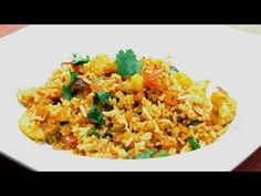 ▶ Recette indienne Fried rice (riz frit) - YouTube