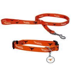 Texas Longhorns Dog Collar and Leash Set *** Details can be found by clicking on the image. (This is an affiliate link and I receive a commission for the sales)