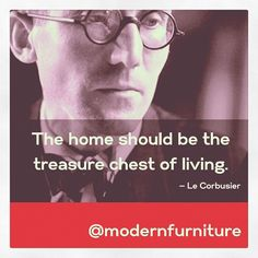 """""""The home should be the treasure chest of living."""" -Le Corbusier. Modern Furniture Collection is giving away a classic Exhibition Chair! All you have to do is pin. #modernfurniture #barcelonachair #contest #pinittowinit #pintowin"""