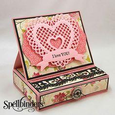 Spellbinders Lace Hearts Dies