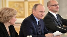 Putin Chairs Council For Culture & Art