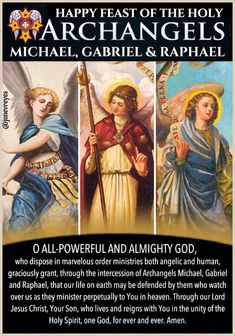 Feast of Angels St Micheal, Catholic Pictures, Personal Prayer, Special Prayers, Religious Education, Archangel Michael, Catholic Prayers, Spiritual Warfare, Quotes About God